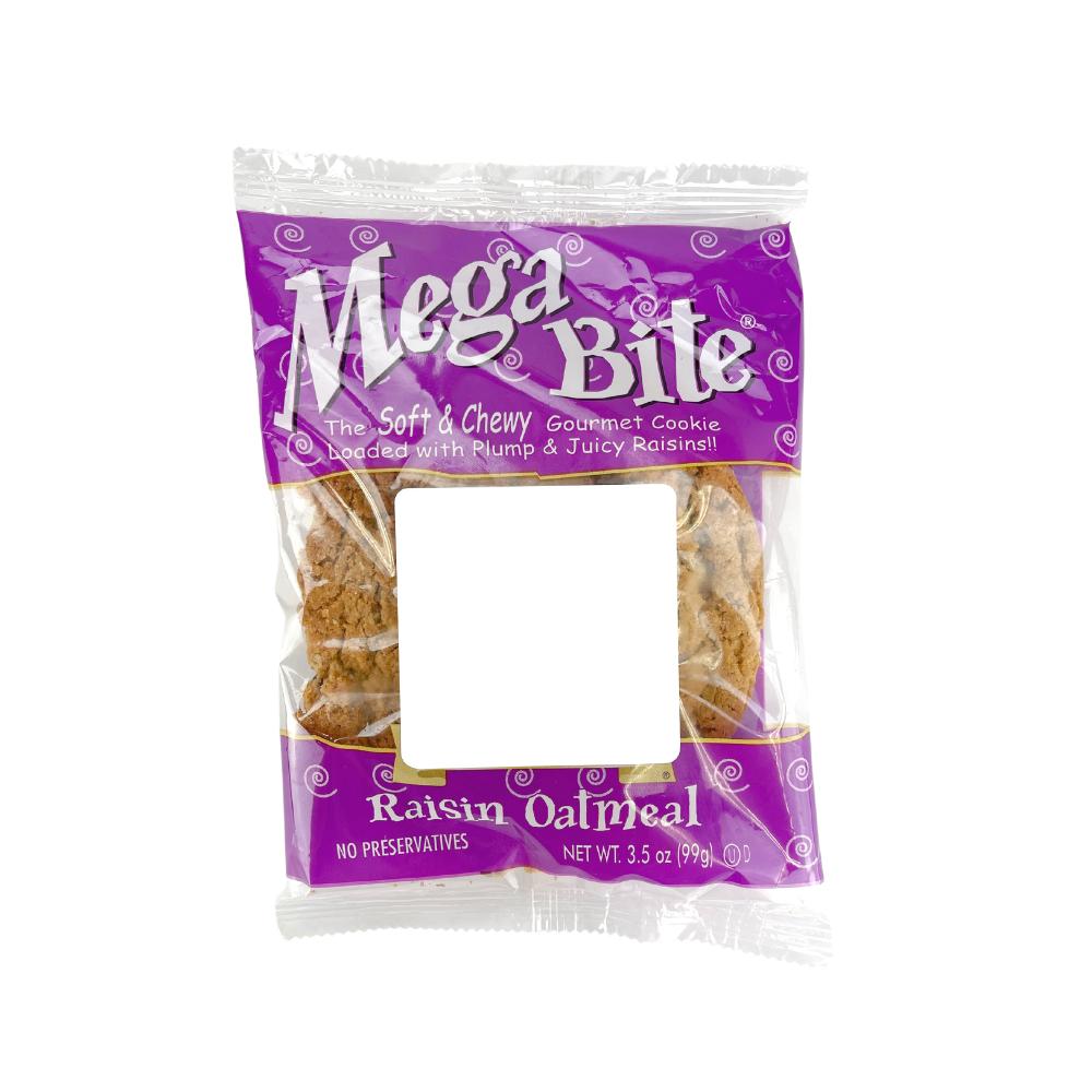 Mega Bite Raisin Oatmeal